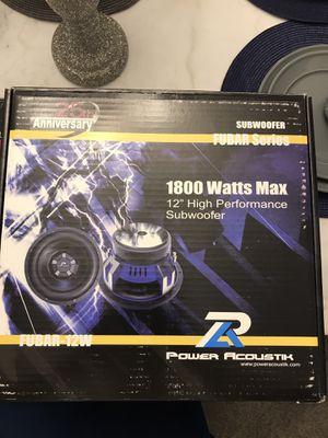 1800 watt comp subwoofer for Sale in Newport News, VA