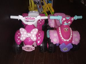 2 Minnie Mouse Ride On ATV Toddler Kid Toy for Sale in High Point, NC
