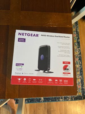 Netgear N600 Wireless Dual Band Router for Sale in Nashville, TN