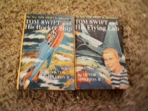 1950 new tom swift adventures series book pair for Sale in West Union, WV