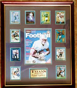 1997 ATHLON PRO FOOTBALL - EDDIE GEORGE LIMITED EDITION OF 100 for Sale in Nashville,  TN