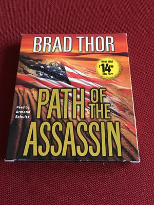 Path of the Assassin audio book by Brad Thor for Sale in Clifton, VA