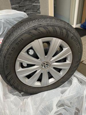 5x112 vw stock wheels plus tires for Sale in Everett, WA