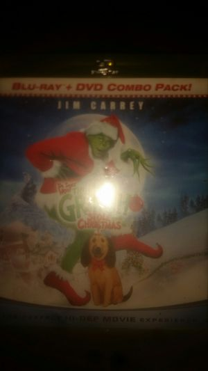Jim Carrey's Dr. Suess How the Grinch Stole Christmas, blu-ray for Sale in Long Beach, CA
