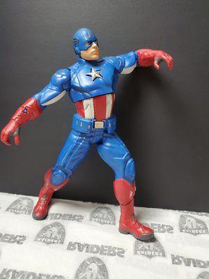 Marvel Talking Captain America Figure for Sale in Santa Ana, CA