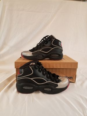 Reebok Iversons size 4.5 boys for Sale in San Diego, CA