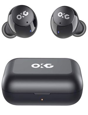 True Wireless Stereo Earbuds IPX8 Sweatproof Bluetooth 5.0 Headphones 24 Hrs Total Playback with Touch Control Support Single &Twin Mode for Sale in Brooklyn, NY