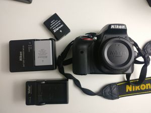 Nikon D3300 24MP DSLR best camera, in excellent condition (body only) for Sale in Bellevue, WA