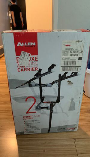 Brand new deluxe two bike carrier(unopened) for Sale in San Diego, CA