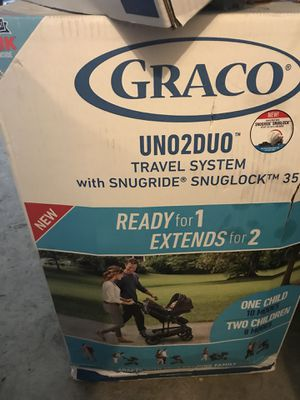 Graco Uno2Duo travel system Hazel for Sale in Augusta, GA
