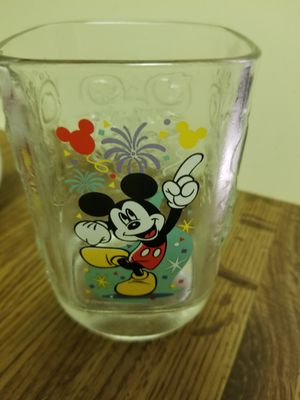 Walt Disney glass cup Mickey Mouse for Sale in West Palm Beach, FL