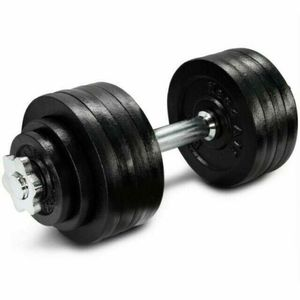 ONE (x1) YES4ALL Adjustable Dumbbell Weight (UP TO 52.5 LBS) SINGLE ONLY IN HAND for Sale in San Jose, CA