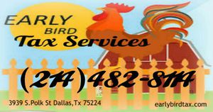 Certified Tax Preparer- FREE ESTIMATION!! for Sale in Dallas, TX