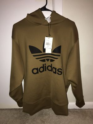 gold adidas hoodie never worn for Sale in Clearwater, FL