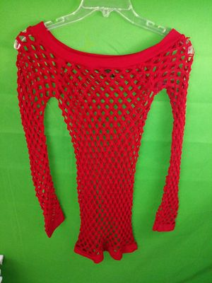 Red fishnet shirt for Sale in Missouri City, TX