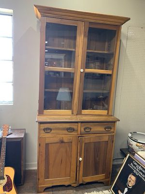 Large Country Stepback Cupboard for Sale in Beaver Falls, PA