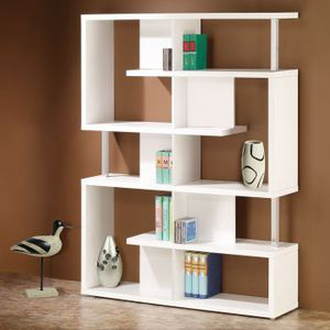Coaster 800310 White Finish Home Office Bookcase Retail 180.99 for Sale in Columbus, OH