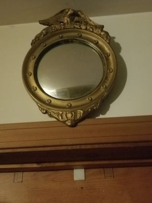 American Eagle round mirror for Sale in OLD ORCHD BCH, ME