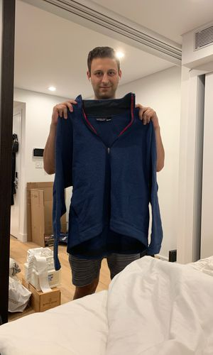 Blue large Patagonia fleece for Sale in New York, NY