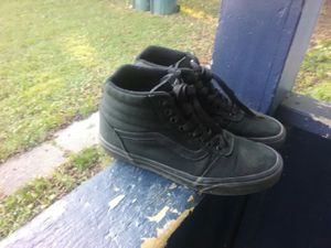 Black Vans shoes size 8.5 for Sale in Rochester, NY