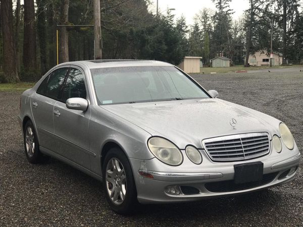 2004 mercedes benz e class for sale in tacoma wa offerup. Black Bedroom Furniture Sets. Home Design Ideas