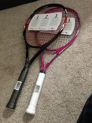 Wilson tennis racket with 3 tennis balls for Sale in Englewood, CO