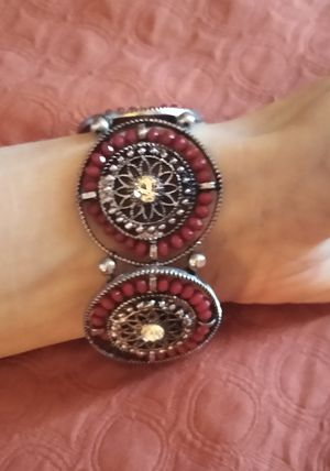 Red beaded bracelet for Sale in WILOUGHBY HLS, OH