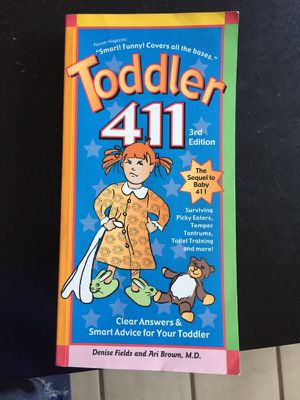 Toddler 411 book 3rd edition for Sale in Boston, MA