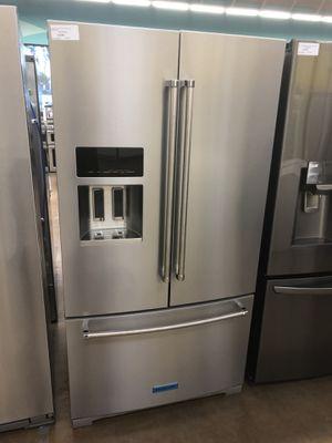 Refrigerator KitchenAid 3 doors Stainless steel for Sale in Glendora, CA
