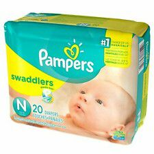 5 packs left. Pampers newborn swaddlers 20.count diapers for Sale in Colorado Springs, CO