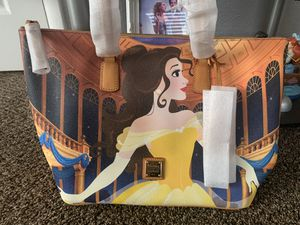 Dooney and Bourke Beauty and the Beast Belle Tote Bag Disney for Sale in Las Vegas, NV