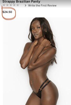 Brand NeNew! Victoria Secret Lot of 6 Strappy Brazilian Panties Size Small 6/$50 for Sale in Las Vegas, NV