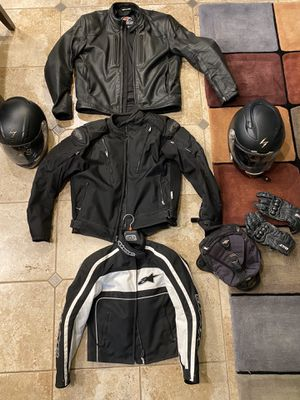 Motorcycle riding gear for Sale in Oregon City, OR