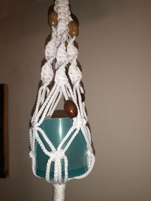 Macrame plant hanger for Sale in Brooklyn, NY
