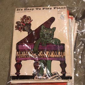 Piano Music Over 20 Books for Sale in Virginia Beach, VA