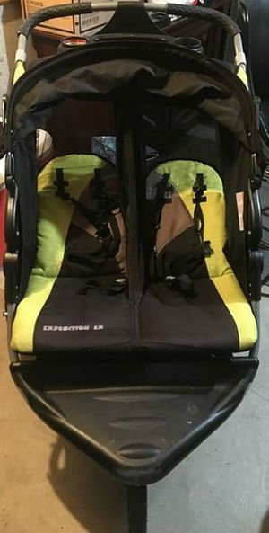 Expedition EX Double Jogger Stroller for Sale in Indian Orchard, MA