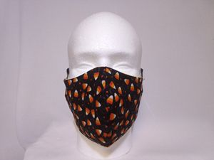 Candy Corn Halloween Cloth Face Mask double layered for Sale in West Carson, CA