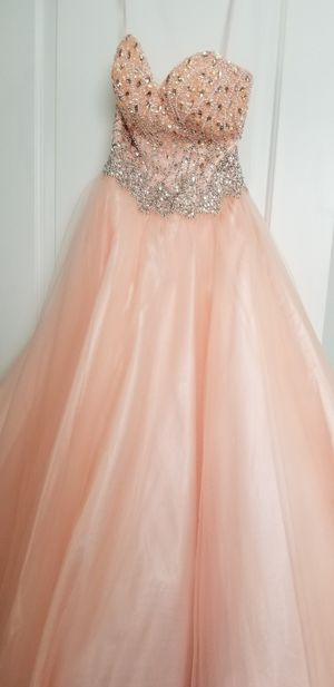 Quinceanera / Sweet 16 Blush Color Dress Size X Small for Sale in Miami Gardens, FL