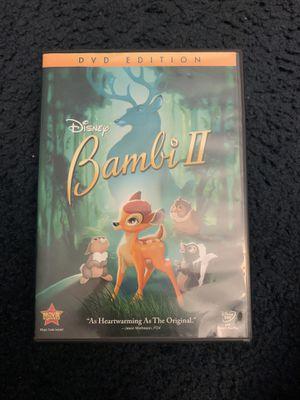 Disney Bambi 2 DVD for Sale in Sacramento, CA