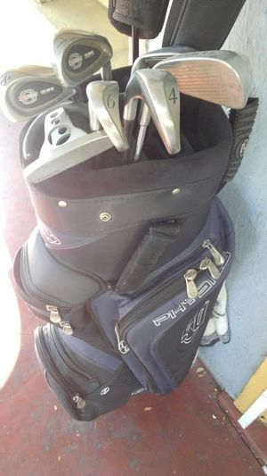 Set of golf clubs and bag $40 for Sale in San Jose, CA
