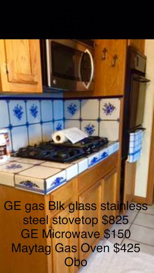 Maytag GE Kitchen Appliances plus Solid Oak Buildout for Sale in La Habra Heights, CA