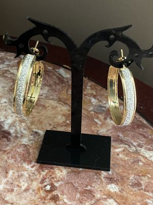 Gold earrings for Sale in Harrisburg, NC