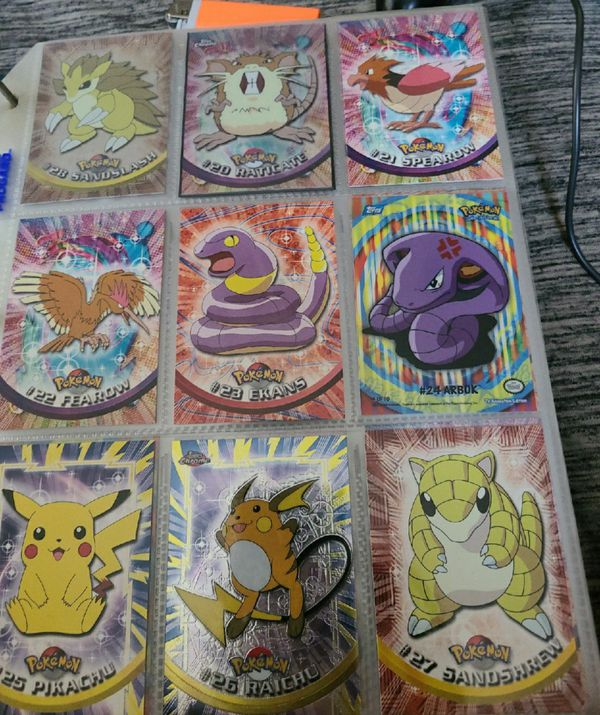 Pokemon collector cards