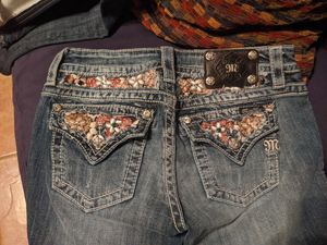MISS ME LADIES JBOOT CUT EANS SIZE 27 for Sale in Fort Worth, TX