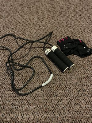 All Pro Jump Rope and Gloves for Sale in Denver, CO