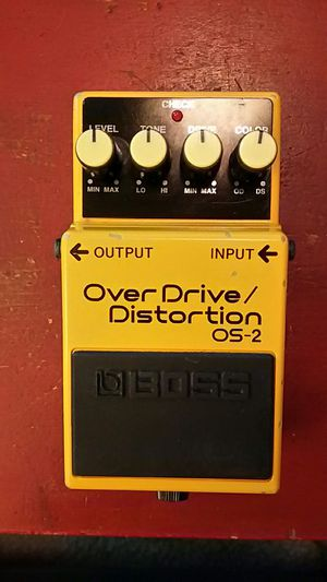 Boss OS-2 Over Drive / Distortion pedal for Sale in Irving, TX