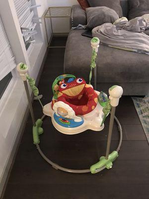 Baby Bouncer, Monster Walker, Swing, 4 moms mamaroo, Baby Activity Mat, for Sale in Alexandria, VA