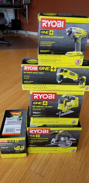 Ryobi 18V One+ Battery set and Tools for Sale in Tampa, FL