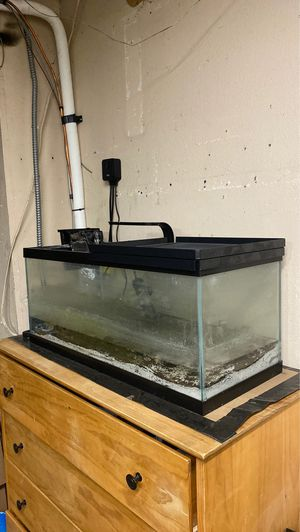 20 gallon long aquarium for Sale in Maple Valley, WA