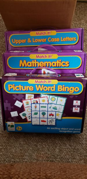Learning Puzzles: Math, Letters, Words for Sale in Albuquerque, NM